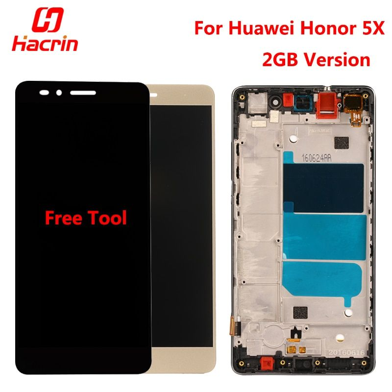 Huawei Honor 5X LCD Display +Touch Screen + Tools FHD 100% New Digitizer Assembly Replacement For Huawei GR5 5.5 <font><b>inches</b></font> KIW-L21