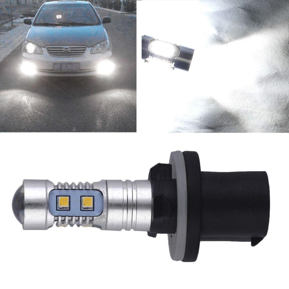 6000 К 880 высокое Мощность 2323 светодиодный проектор автомобилей туман вождения Лампочки 1200lm