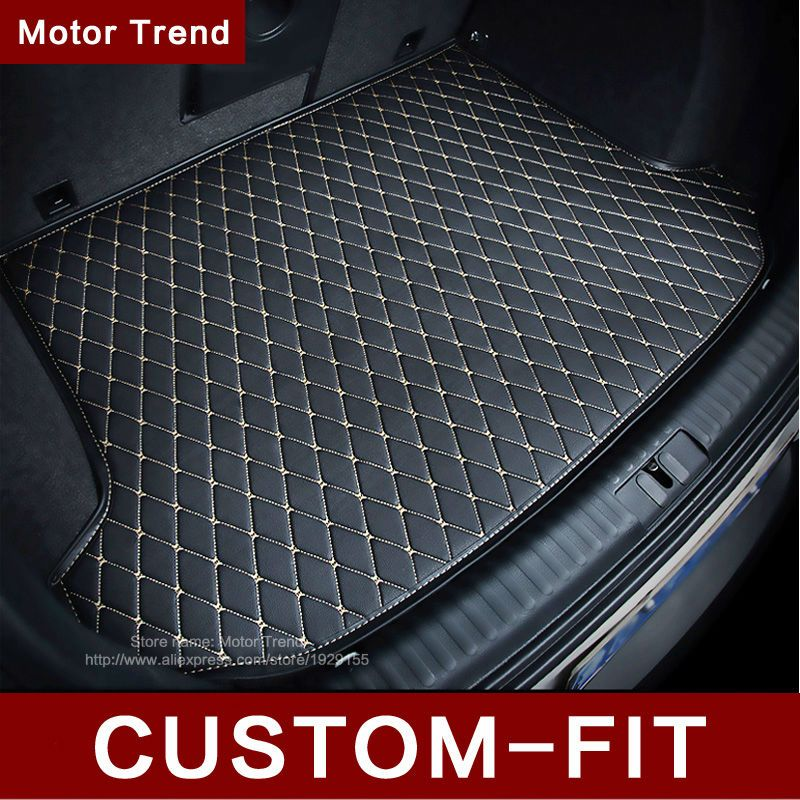 Custom fit car trunk mat for Land Rover Discovery 3/4 2 Sport Range Rover Sport Evoque 3D car styling tray carpet cargo liner