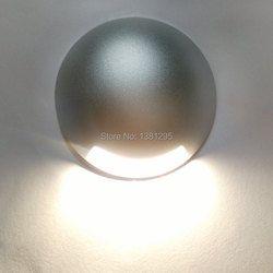 CREE LED Lantai Lampu 12 V 24 V 1 W 3 W LED Underground Light IP67 Terkubur Lampu Eksterior tempat Dapat Diatasi Teras Pencahayaan