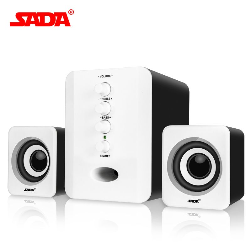 Wired 2.1 combination speaker suitable desktop Laptop USB brand PC computer speakers notebook computer speaker for Free Shipping