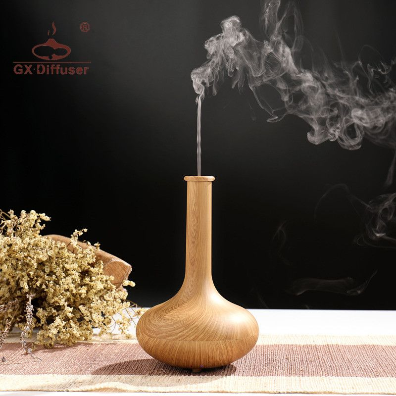GX.Diffuser Electric Ultrasonic Aroma Diffuser Air Humidifier Aromatherapy Essential Oil Lamp For YoGa