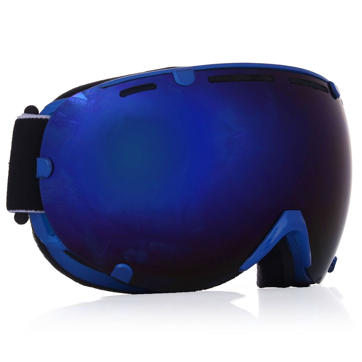 4 Цвета Профессиональные унисекс для взрослых Сноуборд горнолыжные очки Анти-туман УФ Двойной объектив Стекло Очки для лыжного спорта