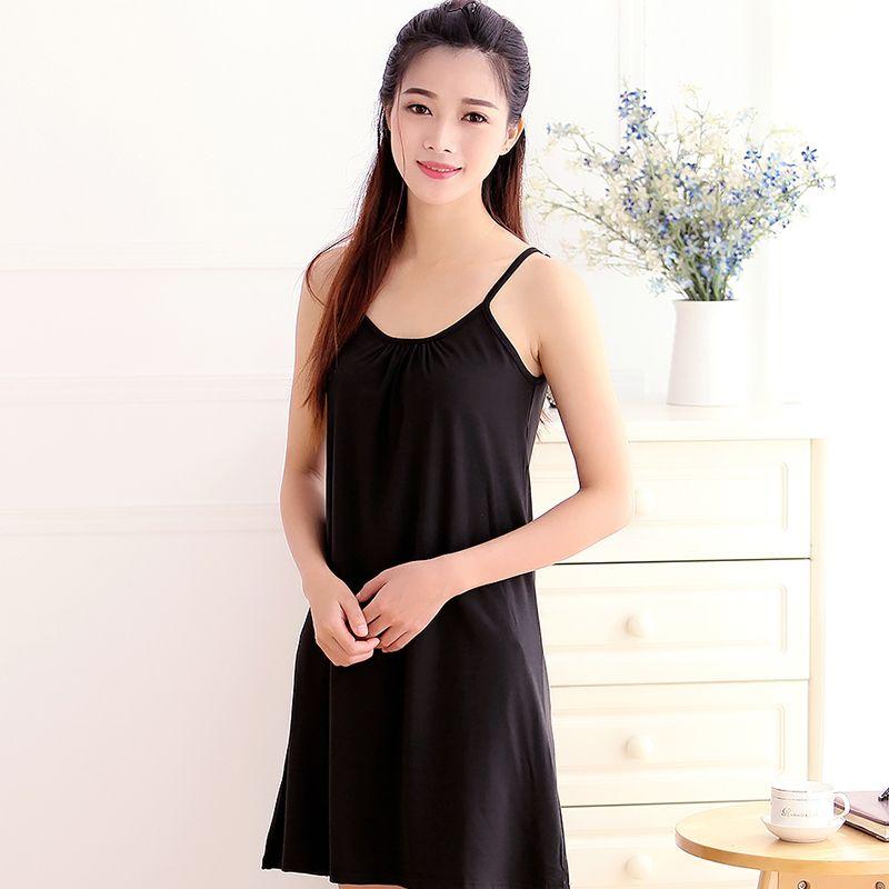 2018 new plus ladies lace slips soft loose mesh sleepwear half transparent lingerie nightdress high quality
