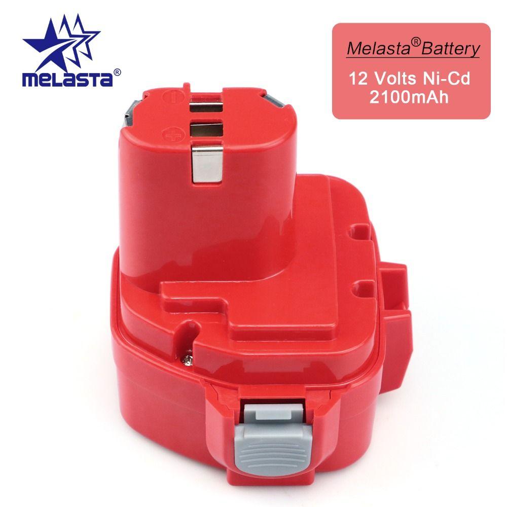 MELASTA 12 v NiCd 2100 mAh Batterie De Remplacement De Batterie pour Makita 1220 PA12 1222 1233 S 1233SA 1233SB 1235 1235A 1235B 192598-2