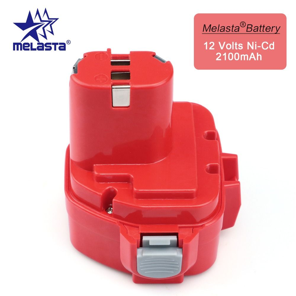 MELASTA 12v NiCd 2100mAh Batterie De Remplacement De Batterie pour Makita 1220 PA12 1222 1233S 1233SA 1233SB 1235 1235A 1235B 192598-2