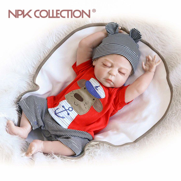 23inch New free shipping hotsale reborn baby doll full vinyl body doll drawing victoria so truly real collection