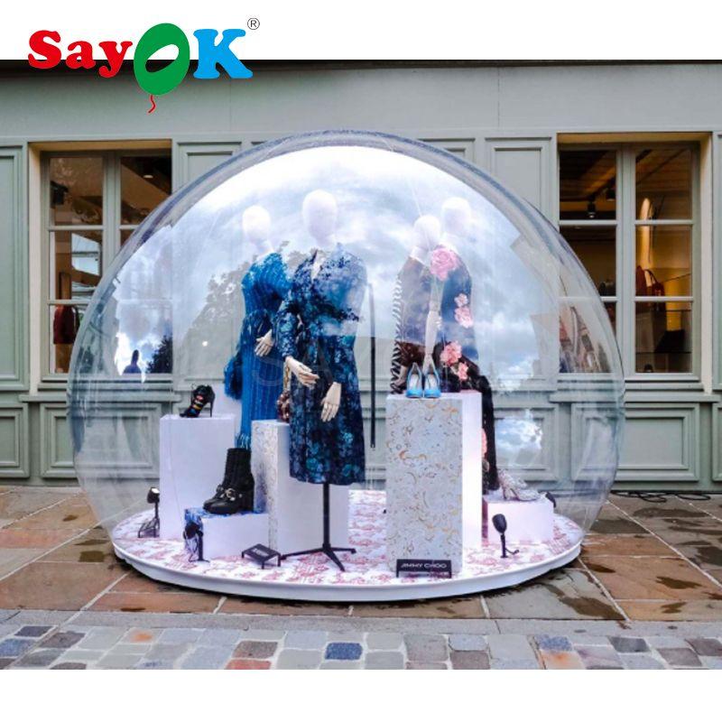 PVC aufblasbare iglu, aufblasbare transparent dome zelt blase zelt/aufblasbare auto abdeckung/Aufblasbare Blase Zelt Outdoor Camping