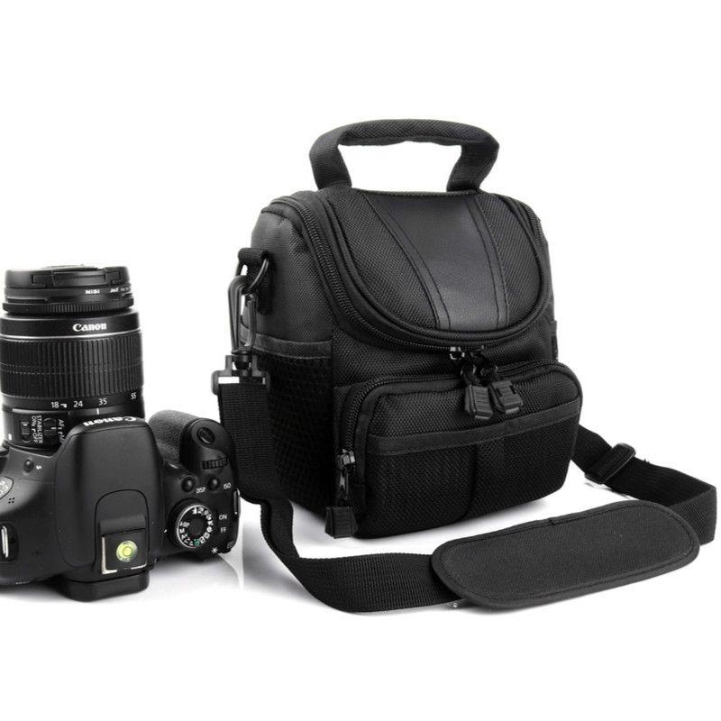 Sacoche Pour appareil photo Pour Canon EOS 750D 1300D 760D 800D 700D 60D 70D 600D 650D 450D 200D Rebelles T6i T5i M5 M3 M10 M6 M100 G1X Mark II