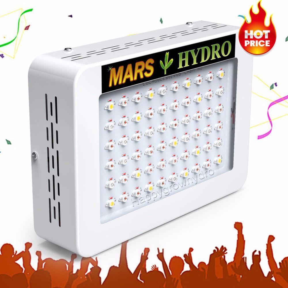 Mars Hydro led Élèvent La Lumière 300 W Spectre Complet Pour plantes Médicinales intérieur Grandir