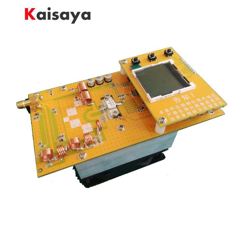 30W PLL Stereo FM Transmitter 76M-108MHz 12V Digital LED Radio Station module with heatsink fan D4-005