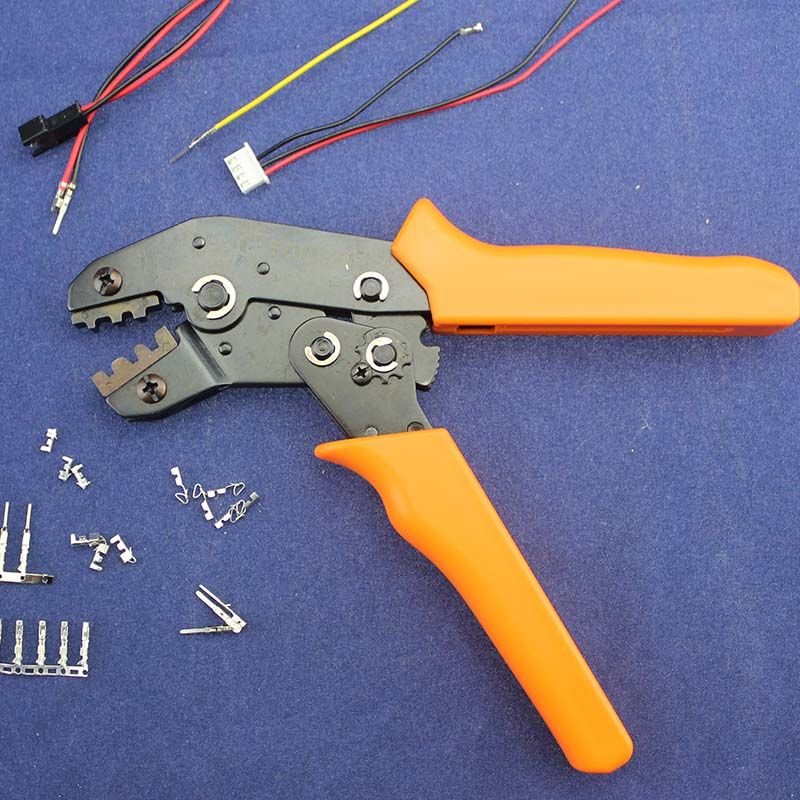 JRD Crimping Tool Crimping Pliers For Dupont XH2.54 KF2510 SM 2.54mm 3.96mm Plug Terminals AWG28-22/JRD1+011 Length 200mm