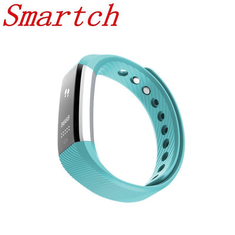 Smartch ID115HR PLUS Smart-Armband Sport Pulsmesser Fitness Tracker Smart Armband für IOS Android-handy