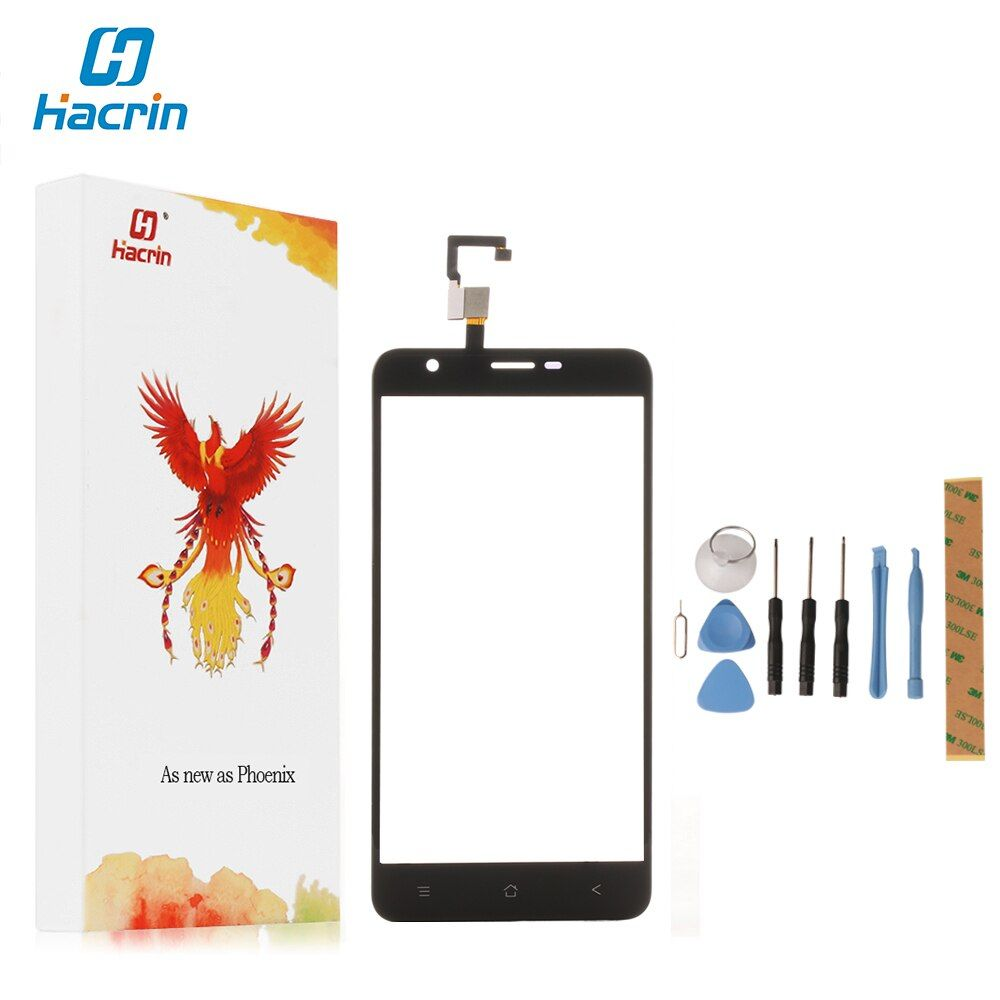 hacrin Blackview E7 Touch Screen Highi Quality 100% New Digitizer Glass Panel Replacement For Blackview E7 /E7S Smart Phone