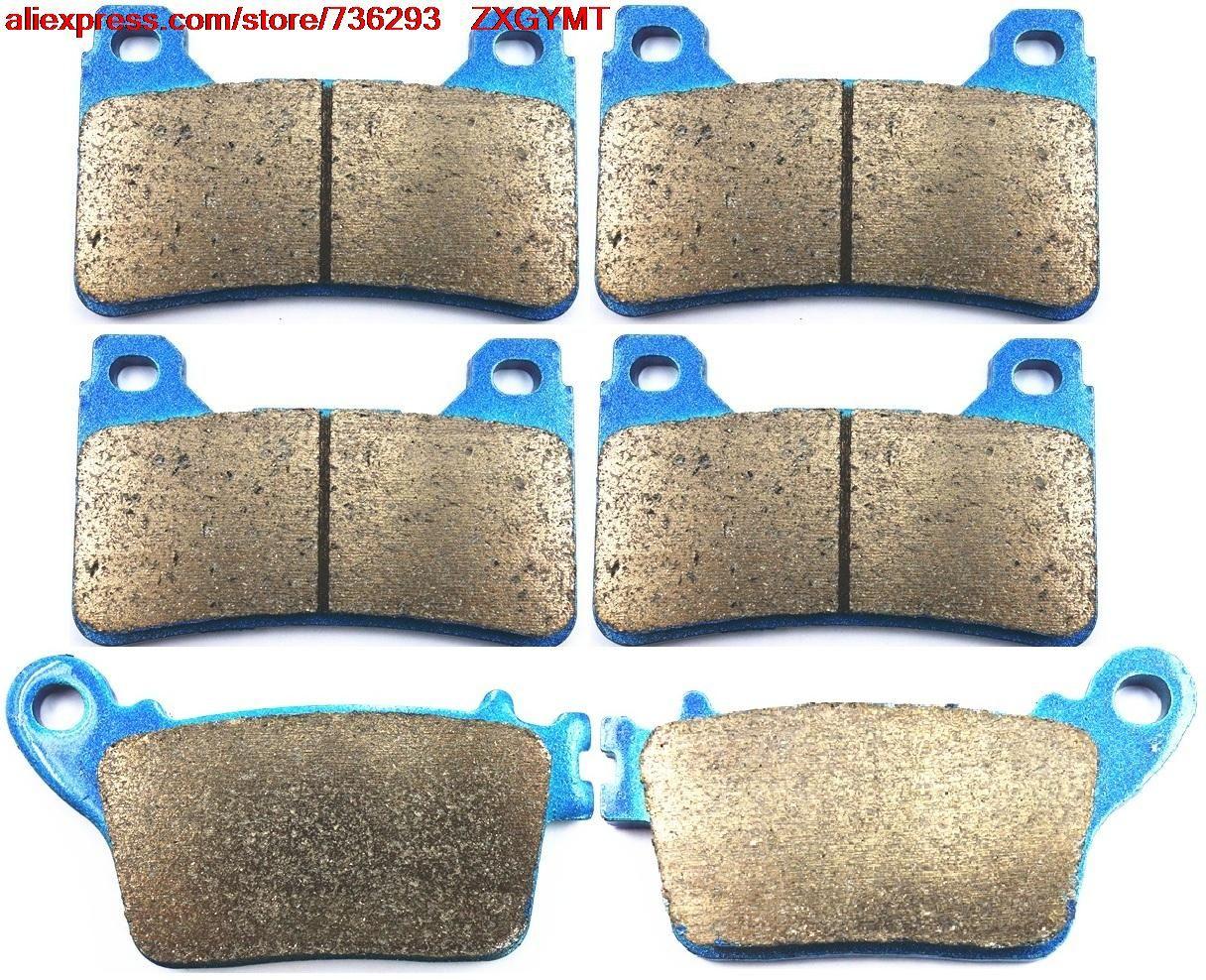 Sintered Road Racing Brake Pads Set fit HONDA CBR1000 CBR1000RR CBR 1000 RR Fireblade ( Rad.cal ) 2006 - 2007