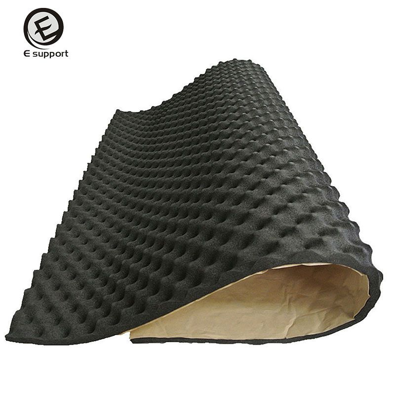 EE support 50cm*100cm*20mm Acoustic Foam Car Van Sound Proofing Deadening Insulation KTV Room Sound Absorber Automotive interior