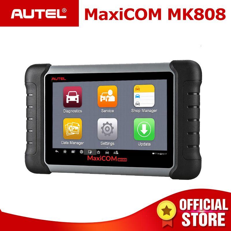 Autel MaxiCOM MK808 OBDII Automotive Scanner IMMO EPB SAS BMS TPMS DPF Service diagnose werkzeug