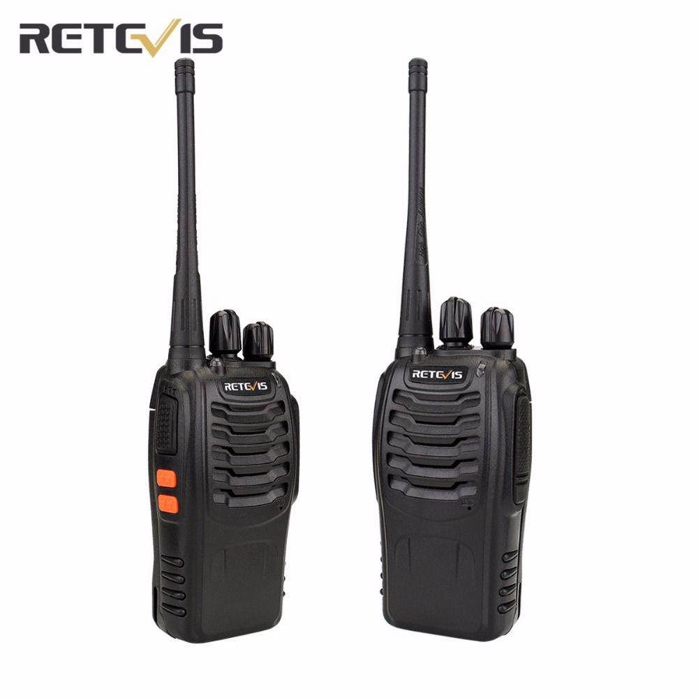 2 stücke Retevis H777 Walkie Talkie Transceiver UHF400-470MHz Frequenz Handlichen Radio Set Amateur Zweiwegradio A9105A