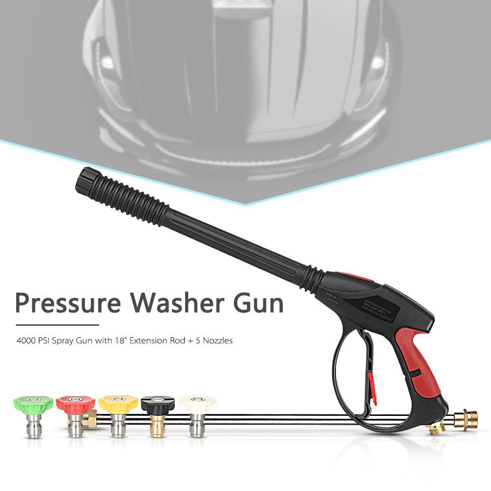 Pressure Washer Gun 4000 PSI Spray Gun with 18