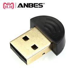 ANBES Dual Mode Wireless-Dongle CSR 4,0 Mini USB Bluetooth Dongle Adapter V4.0 Für Laptop PC Win Xp Win7/ 8 telefon USB Adapter