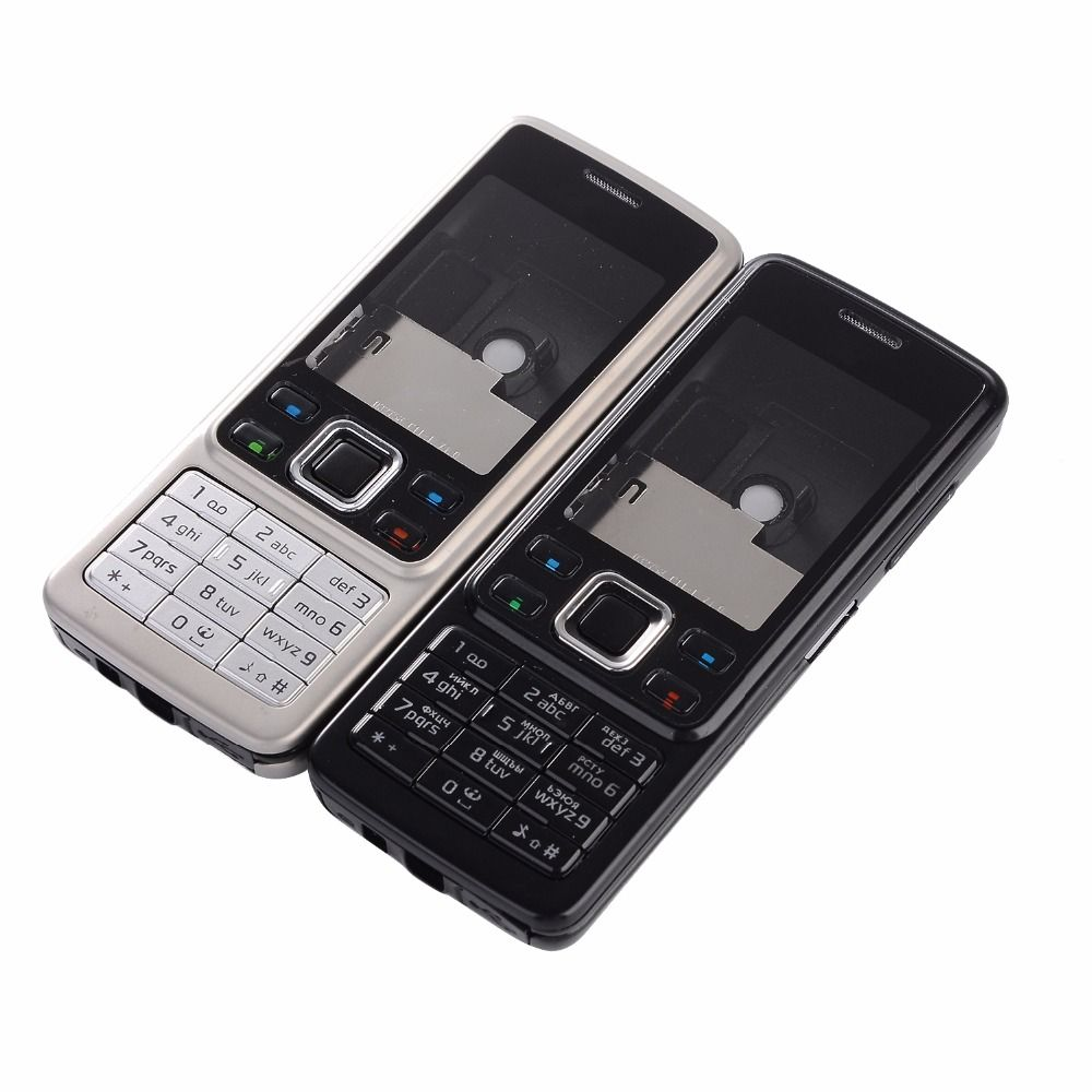 For Nokia 6300 Housing Front Frame+Battery Door+English Russian keypads+Tools
