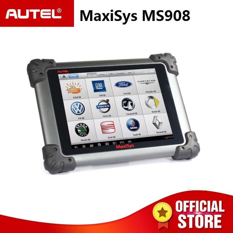 Autel MaxiSys MS908 Auto Diagnose Scanner Drahtlose Auto Reparatur Tool Fahrzeug Diagnose Ausrüstung