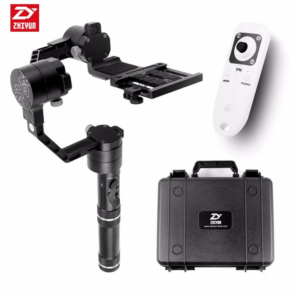 Zhiyun Grúa V2 3 axi handheld estabilizador cardán para DSLR Canon Cámaras Soporte 1.8 KG F18164 3-axi