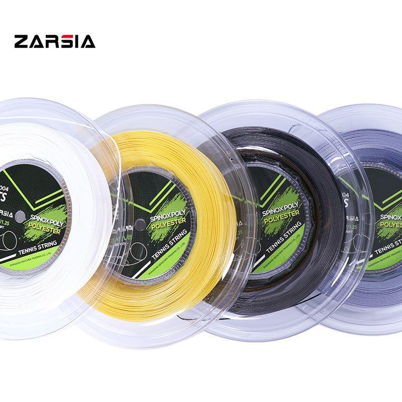 200 m gros banger véritable ZARSIA ALU qualité rugueuse cordages 1.25mm 17 jauge raquette de tennis ZTS004