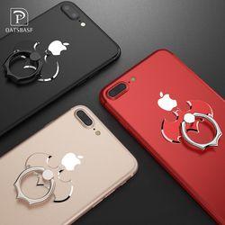 Oatsbasf bat 360 grados girar titular anillo de dedo teléfono móvil soporte titular para iPhone/Samsung/xiaomi todo inteligente teléfono