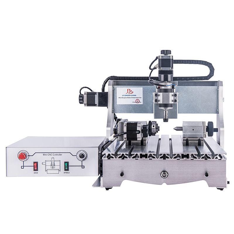 DIY mini CNC 4030 T-D300 4 aixs gravur maschine CNC 3040 schneiden maschine spezielle design für holz metall aluminium