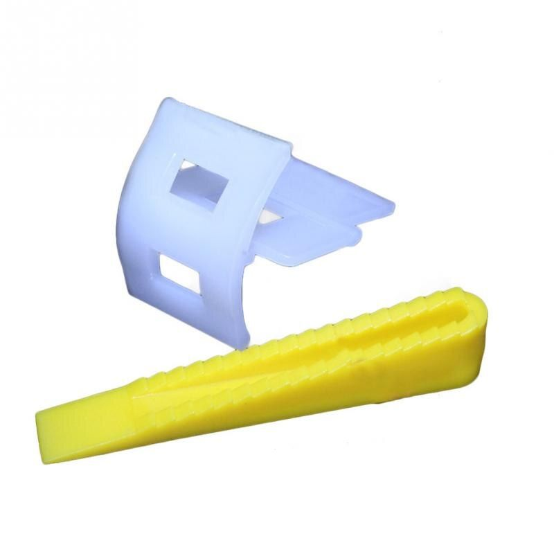 100 Tile Leveling System 50 Clips+50 Wedges Tile Leveler Spacers Lippage Tile Leveler Constraction Tool Parts