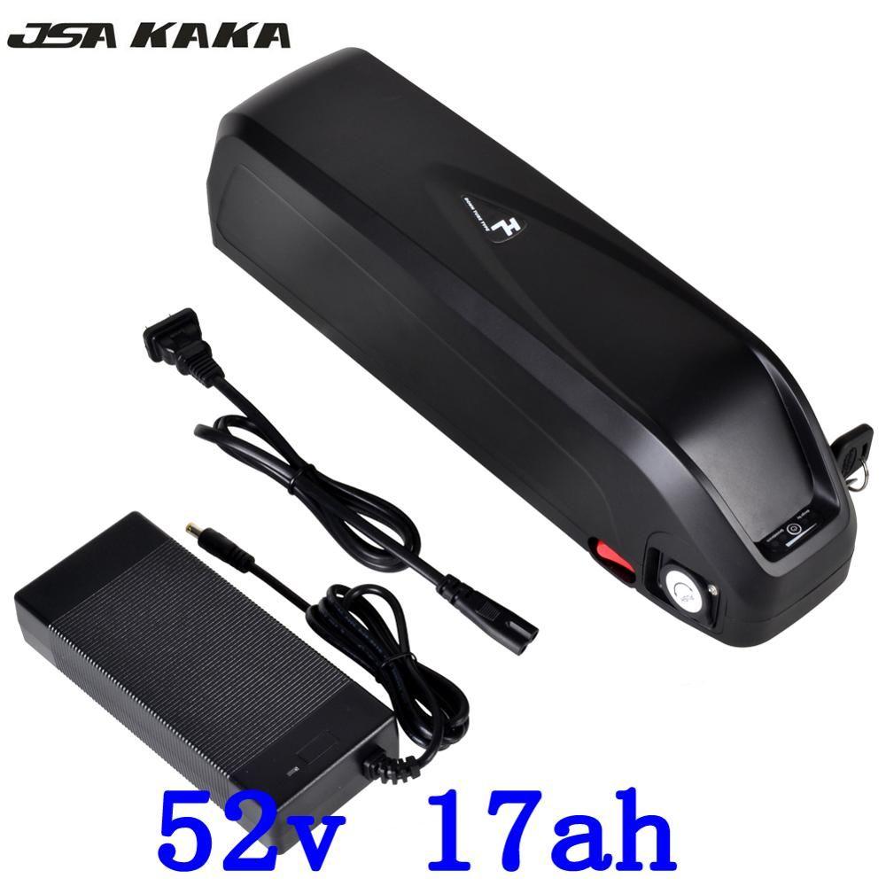 US EU No Tax 51.8V 52V 17Ah with 5V USB hailong for LG cell Li-ion Battery 48V 1000W Electric Fat Bike Hailong Battery