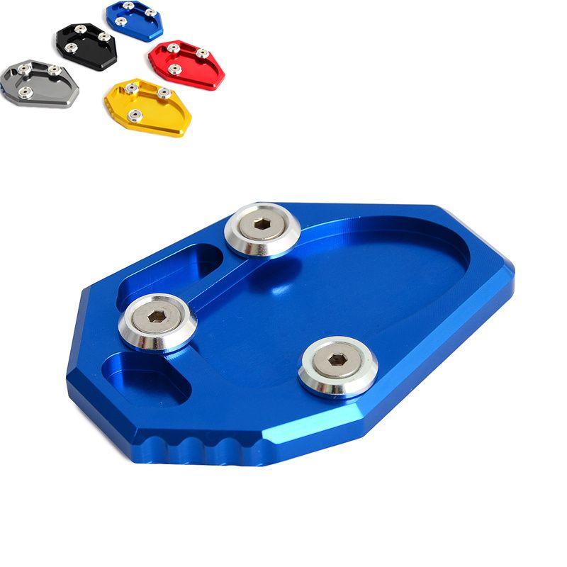 Parking Béquille Pad Agrandir Extension Pédale Béquille Latérale Support de Plaque Pour Yamaha MT-07 14-16 XJ6/ABS FZ6R 09 -15 FZ6-S2 ABS 04-09