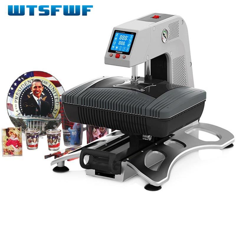 Wtsfwf ST-420 3D Sublimation De Transfert De Chaleur Imprimante 3D Vide Imprimante Machine pour Cas Tasses T chemises Plaques