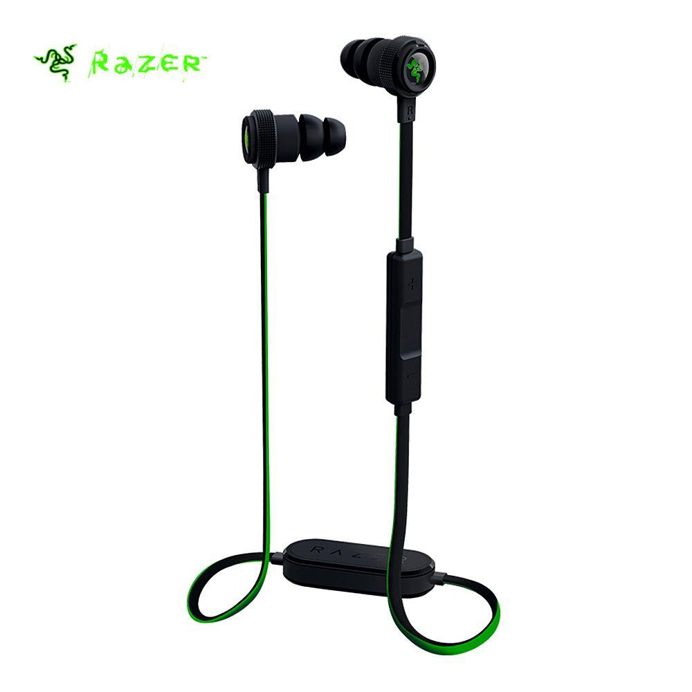 Original Razer Hammerhead Bluetooth Wireless Headset mit In-line Fernbedienung Mikrofon für iOS Geräte Telefon PC GamingMusic Kopfhörer