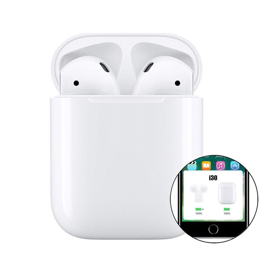 Original i30 tws Bluetooth Earphones Wireless Earphone Pop Up Touch Bluetooth Earbuds i30tws PK 1:1 Replica i20 tws i30 i12 i10