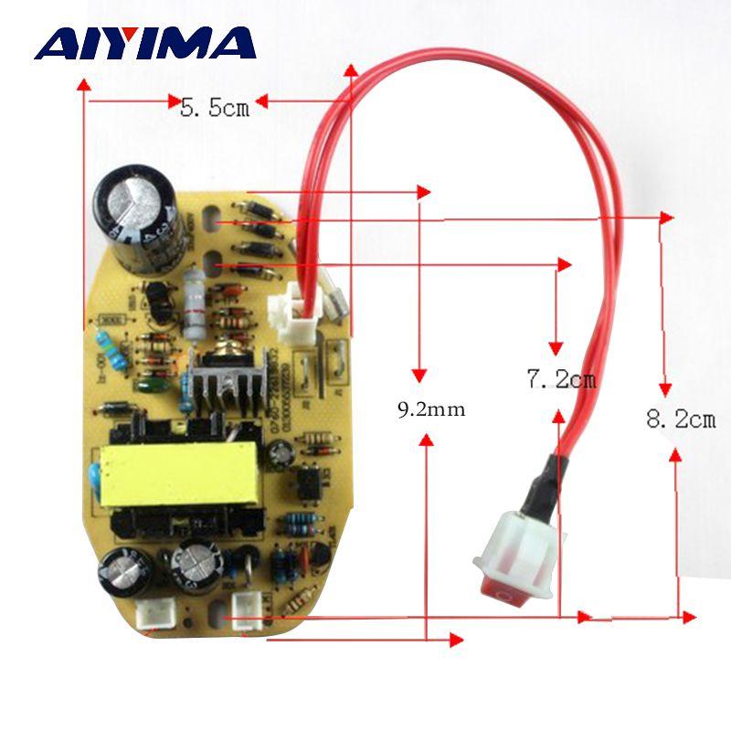 1 stück 38 V DC high-power luftbefeuchter leistungsplatine Allgemeine Kontrolle-panel schaltung sprayer platte pulverisierer