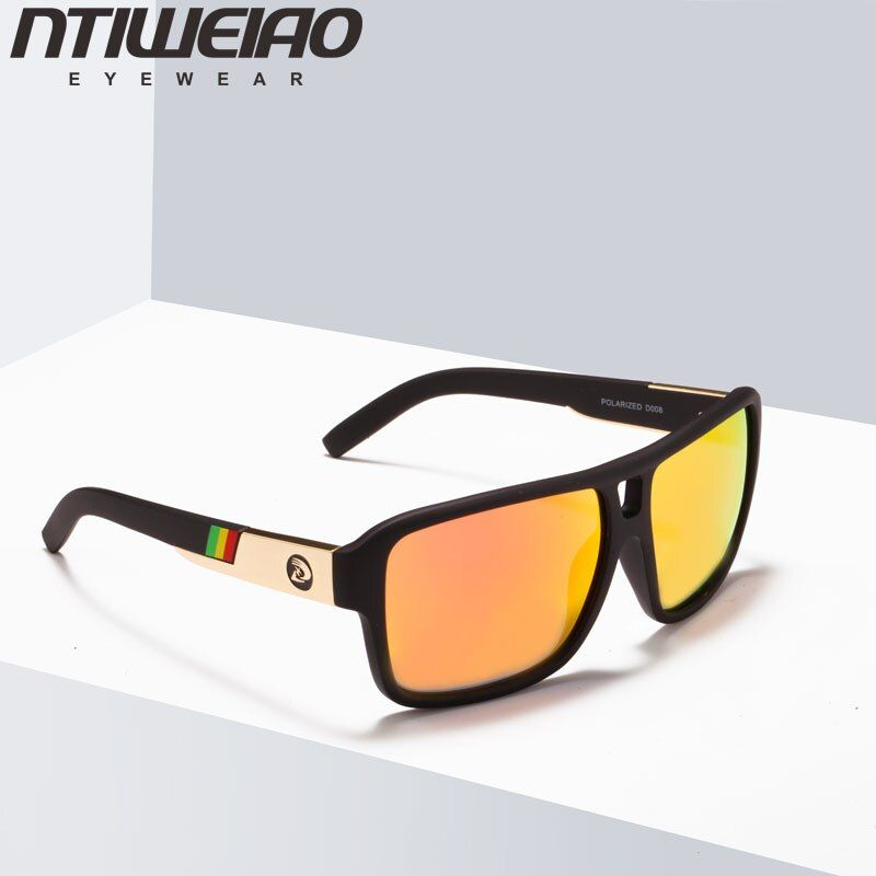 NTIWEIAO Polarized Sunglasses Men's Driver Shades Male Sports Sun Glasses For Men Original 2018 Brand Designer Oculos
