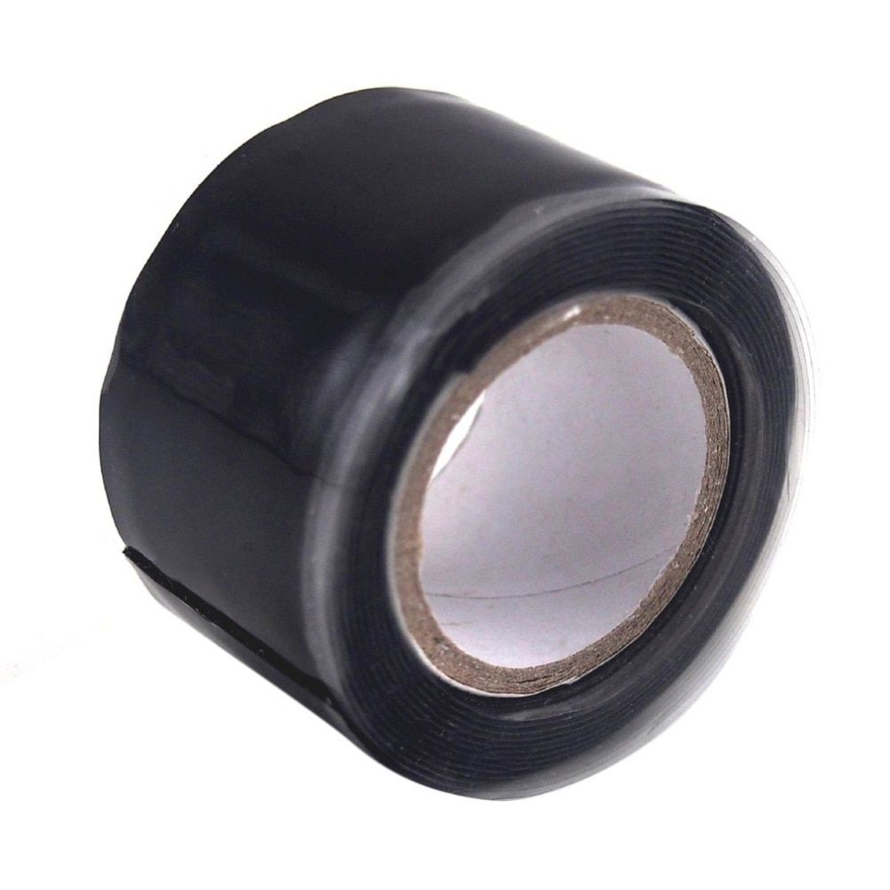 3m 1.5m Black Silicone Tape Waterproof Repair Bonding Sealing Tapes Rescue Self Adhesive Fusing Wire Tools Hose Pipe Useful