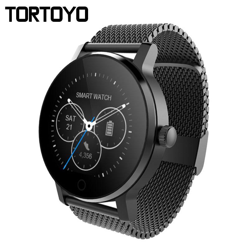 TORTOYO Neue Smart Uhr SMA09 Bluetooth Smartwatch Sport Heart Rate Monitor Armbanduhr Telefon Anti Verloren Push für iPhone Android