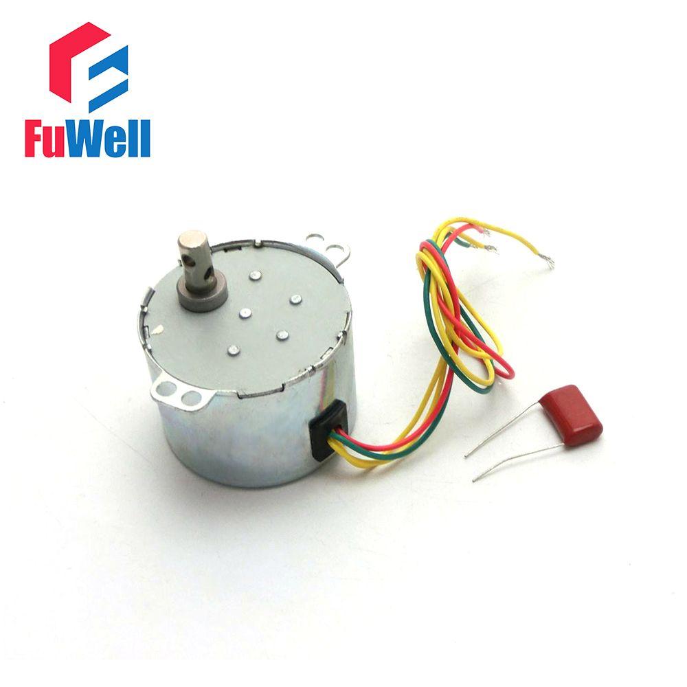 50 KTYZ coque en métal 1.5r/min 6 W Watts 50Hz AC 220 V ventilateur synchrone boîte de vitesses moteur 220 V