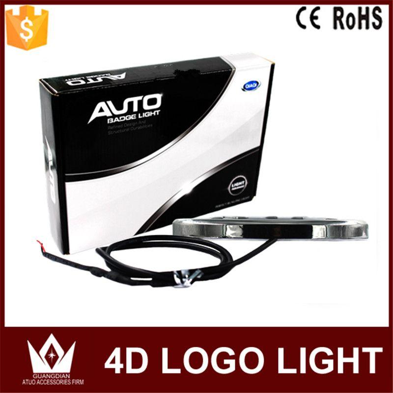 Tcart For Ford Emblems light car auto 4D Emblem lamp 4D led Rear 4D Badge Sticker light light 4D led logo light