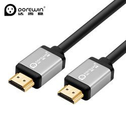 Dorewin HDMI Cable 1080P 4K 3D Video Cable HDMI 2.0 Gold Plated HDMI to HDMI Adapter Cable for PC HDTV Projector Box 3m 5m 10m