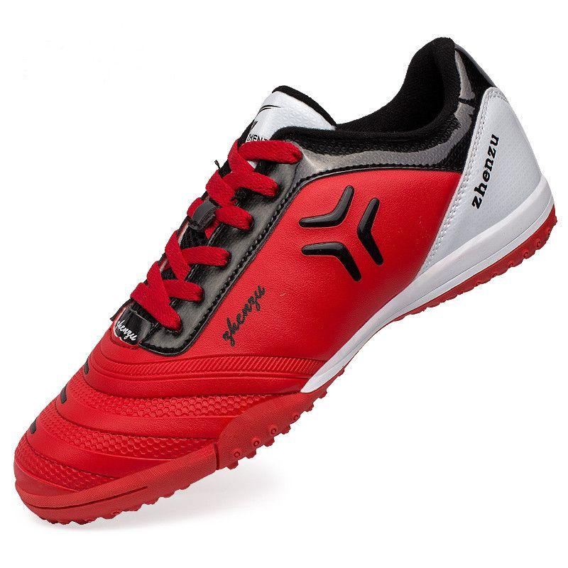 ZHENZU 2017 Football Boots Kids Soccer Training Shoes TF Turf Outdoor Lawn Breathable crampons de foot Botas De Futbol chuteira