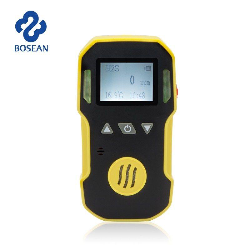 Gas Monitor O3 Ozon Gaswarngerät Tragbare mit Sound + Licht + Schock Alarm Gaslecksuchgerät Professionelle O3 Air Gas Analyzer