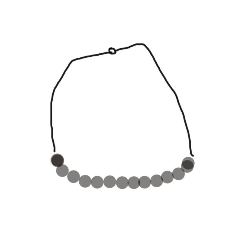 N17005 ожерелье