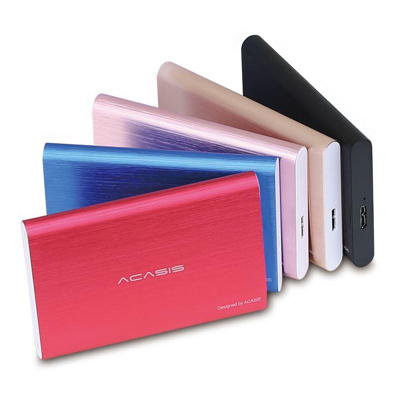 100% nouveau disque dur externe 320 GB/500 GB/750 gb/1 to/2 to disque dur USB3.0 périphériques de stockage haute vitesse 2.5 'HDD ordinateur portable de bureau