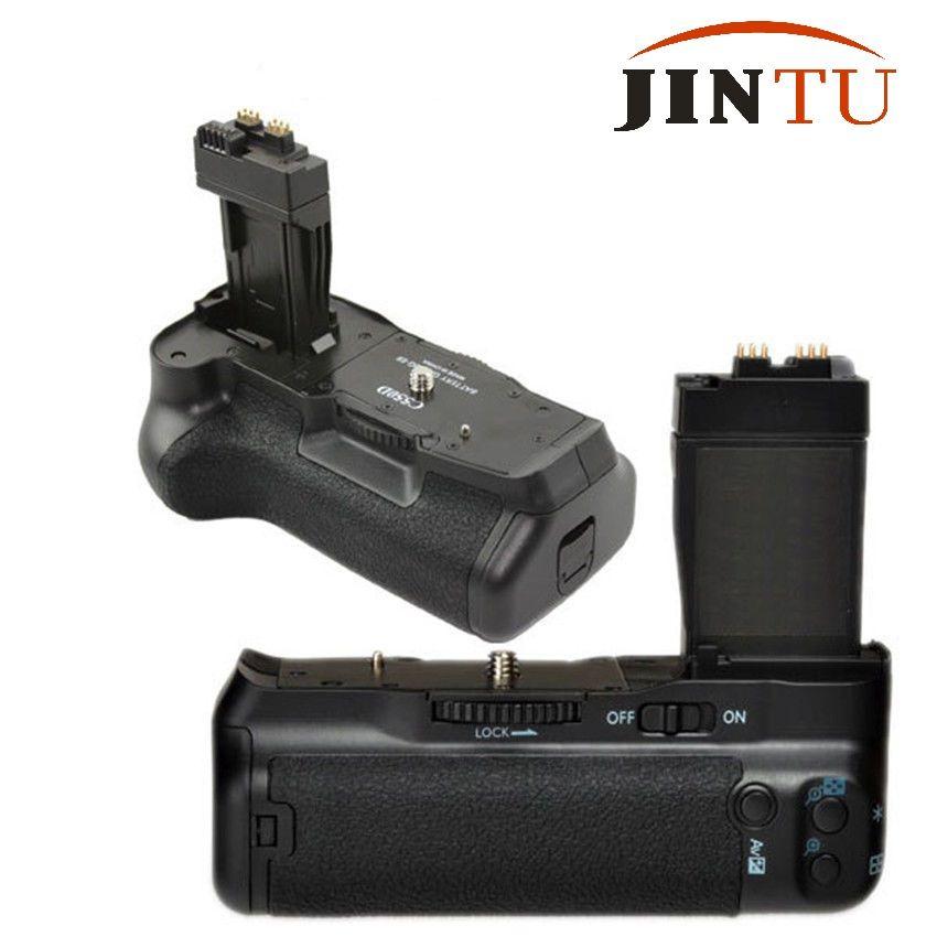 JINTU Pro Battery Grip for Canon EOS 550D 600D 650D Rebel T2i T3i T4i DSLR Camera as BG-E8 LP-E8 Vertical shutter Grip holder