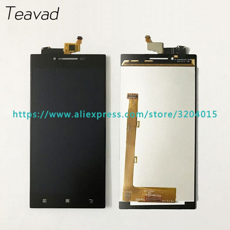 High Quality 5.0'' For Lenovo P70 P70t LCD Display Screen With Touch Screen Digitizer Assembly Repair Parts Free shipping