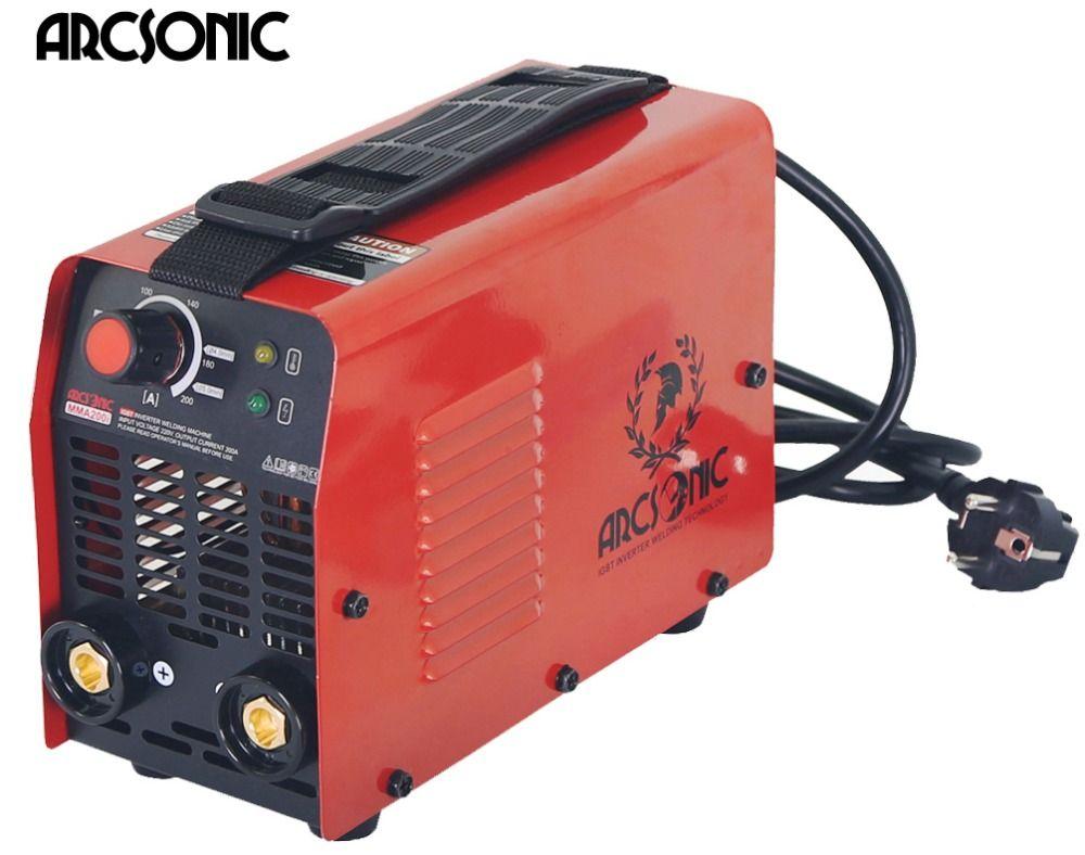 IGBT Arc Welder Inverter Welding machine MMA200 ARC200 welding machine Easy weld electrode 2.5 3.2 4.0 Arc Welder